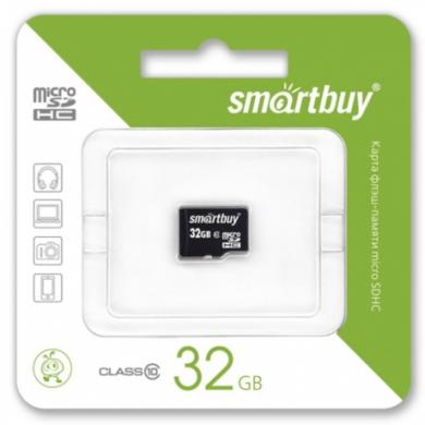 MicroSDHC 32GB SmartBuy Class 10